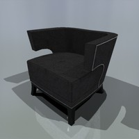 tub chair coach house 3d max
