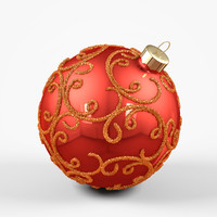 3d christmas decorations model