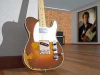 3d model replic andy fender telecaster