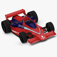 formula racing car brabham 3d 3ds