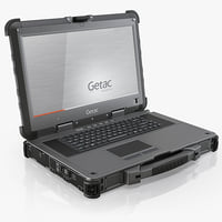 3d model getac x500 fully rugged