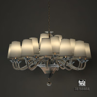 3d model chandelier fendi