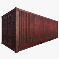 ready shipping container 3d max