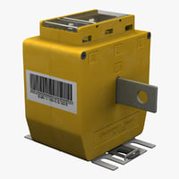 Support Type Current Transformer Yellow