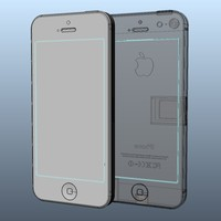 iPhone 5 Solid Nurbs igs 3dm