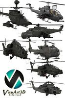 3d helicopter military