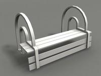 park chair strange benches