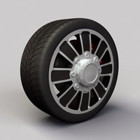 Wheel Alloy Ion 166 rims and tyre