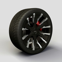 Wheel Baccarat - Phang rims and tyre