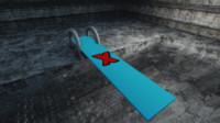 3d diving board