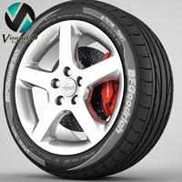 wheel Volvo S60 8