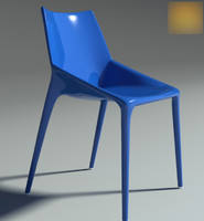 3d model chair outline 2011