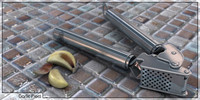 garlic press 3d 3ds