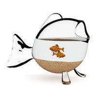 Fish-shape Aquarium