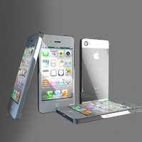 3d model iphone phone