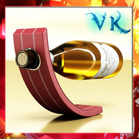 wine rack bottle 3d 3ds
