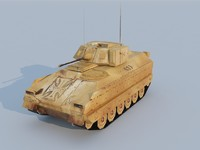 3d m2 bradley model
