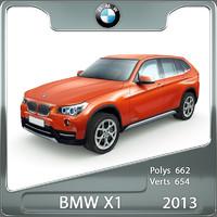 bmw x1 2013 3ds