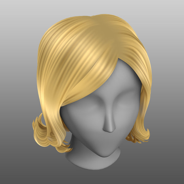 3d model of blonde - photo #40