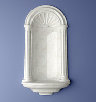 Henta Colonial Wall Niche