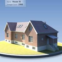 3d house danish