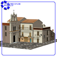 3d piazza italian