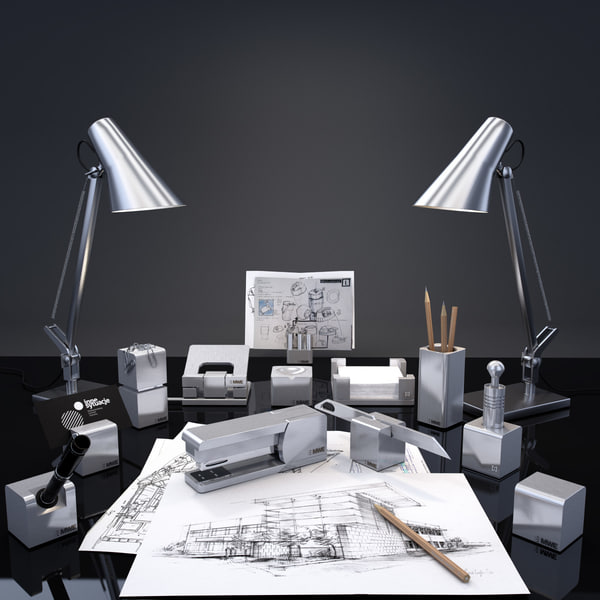 3d max mwe - MWE_writing_desk_series_Siena... by Hazov