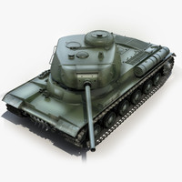 3dsmax is-1 soviet tank