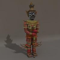 maya thai culture statue