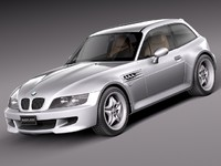 bmw z3 m coupe 3d model
