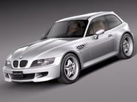 3dsmax bmw z3 m coupe