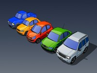 cars cartoons toons 3d max