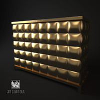 christopher guy chest 3d max