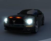 3d model kitt 2008