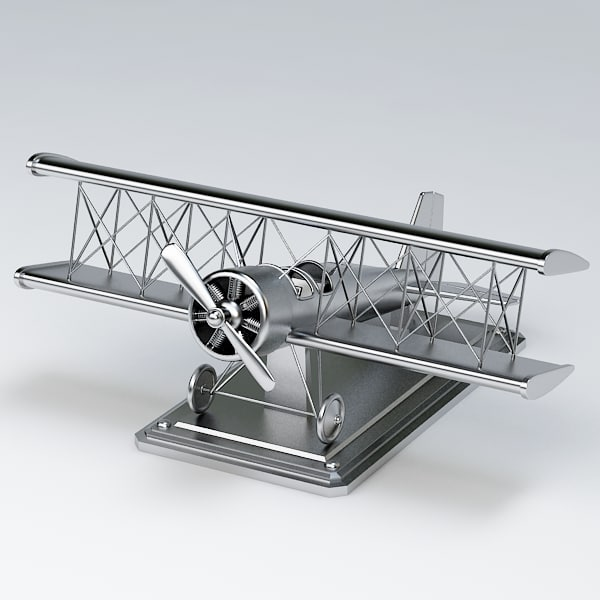 3d max decor airplane - Decorative airplane009... by Fworx