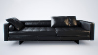 sofa plaza swan 3d model