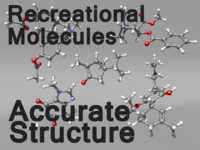 recreational molecules 3d model