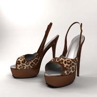 3d heel shoe 1