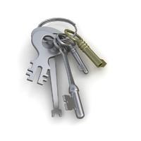 3d keys chain model