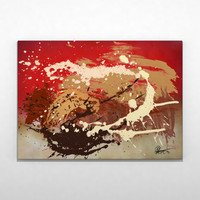 3d contemporary abstract painting art