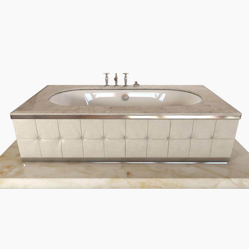 Bath bathtub seasons 3d model for Arredi 3ds
