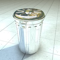 trash trash metal 3d model