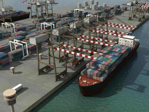 3d port model - Port... by yusuf joher taherali