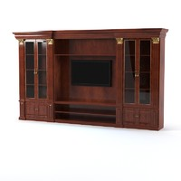 3d model classic tv entertainment