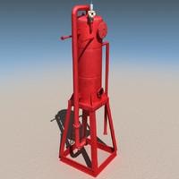 3d derrick mud gas separator