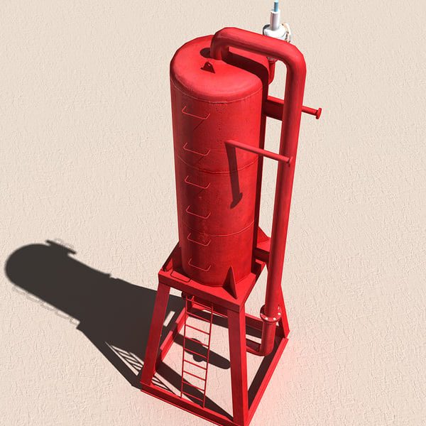 3d derrick mud gas separator for Garden separator