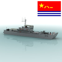 type 79 landing craft 3d model