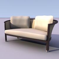 3ds armchair