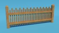 3d garden fence