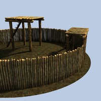 3d iron age fort